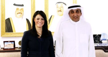وزيرة التعاون الدولى تبحث مع مدير الصندوق الكويتى للتنمية استراتيجية التعاون حتى 2022