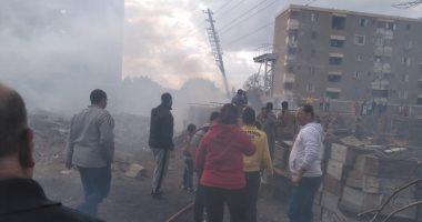 الحماية المدنية تسيطر على حريق داخل منحل بمدينة قها
