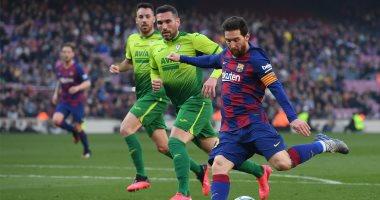 """برشلونة ضد إيبار.. ميسي يُهين الحارس ويسجل السوبر هاتريك """"فيديو"""""""