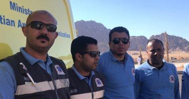 الإسعاف تدفع بـ3 سيارات مجهزة لتأمين سباق الهجن بشرم الشيخ