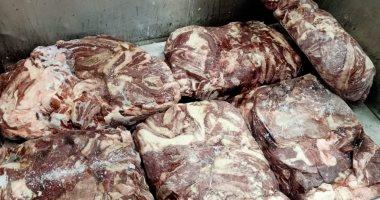 ضبط 25.5 طن دواجن ولحوم مجمدة غير صالحة للاستخدام الآدمي بالشرقية