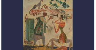 مناقشة رحلتنا مع الفن وأمريكا وثورة 1919 مع أبو الغار بصالون الجزويت