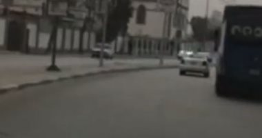 انسياب مرورى بطريق كورنيش النيل من شبرا حتى التحرير