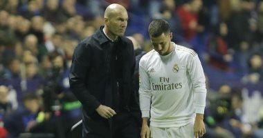 إصابات هازارد بأول موسم مع ريال مدريد تعادل كل إصاباته فى تشيلسى