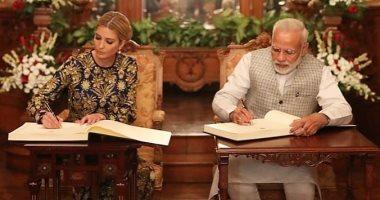إيفانكا ترامب: سعيدة بزيارة الهند مرة أخرى ولقاء رئيس الوزراء