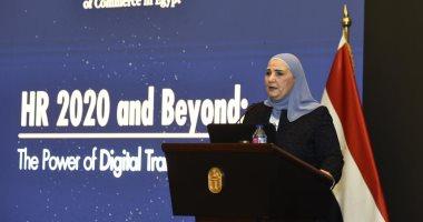 نيفين القباج: وزارة التضامن تقدم خدماتها المباشرة لـ36 مليون مواطن.. صور
