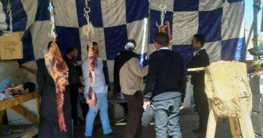 محافظ أسوان يقرر غلق الشوادر العشوائية لبيع اللحوم حفاظاً على صحة المواطنين