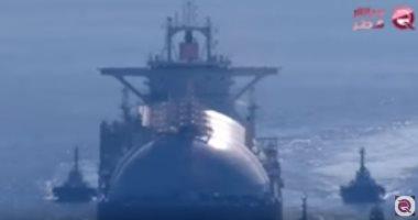 فيديو.. مباشر قطر تكشف كذب تميم بن حمد فى ملف الغاز