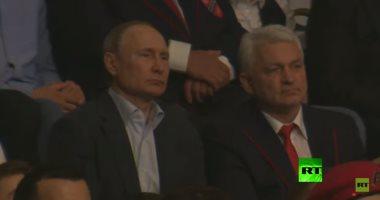 """شاهد.. بوتين فى أول بطولة لدورى الـ""""سامبو"""" بسوتشي"""