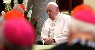 الفاتيكان: البابا يعانى من البرد ولا تظهر عليه أعراض أى مرض آخر
