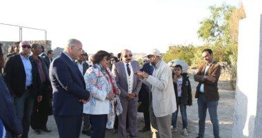 وزيرة الثقافة: سيمبوزبوم أسوان بدورته الـ 25 يؤكد على ريادة مصر لفن النحت -