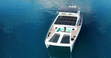 يخت يعمل بالكامل بالطاقة الشمسية مدى الحياة بقيمة 3.3 مليون دولار.. صور