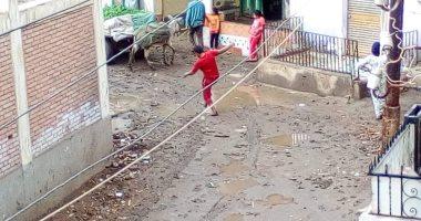 موجة من الطقس السيئ والأمطار تضرب مدن وقرى محافظة القليوبية