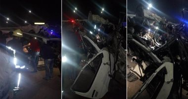 مصدر أمنى: سيارة نقل تسير عكس الاتجاه وراء حادث طريق مطار القاهرة