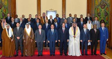 """السيسى: شرفت اليوم باستقبال رؤساء أجهزة المخابرات المشاركين بـ""""المنتدى العربي الاستخبارى"""""""