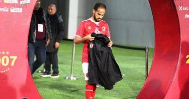 سوبر كورة: إصابة وليد سليمان فى تدريبات الأهلى قبل مباراة صن داونز