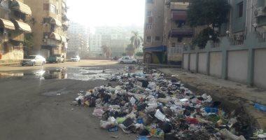 اضبط مخالفة القمامة والمجارى تحاصر مركز طبى ببورسعيد