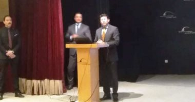 وزير الرياضة من الإسكندرية: أزمة مباراة القمة مسألة وقت واتحاد الكرة هو مسئول