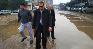 صور.. استمرار رفع مياه الأمطار من المدن و المراكز فى الشرقية