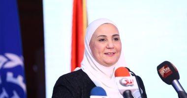"""وزيرة التضامن: الخميس إطلاق برنامج """"وعى"""" لمحاربة التدخين وتعاطى المخدرات"""