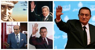 فيديو وصور.. هؤلاء جسدوا الرئيس الراحل حسنى مبارك وقلدوه فى أعمال فنية