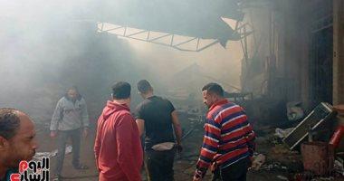 السيطرة على حريق فى 3 منازل بسوهاج دون إصابات