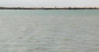 سيول وسط سيناء تتجاوز سد الروافعة بمسار وادى العريش ..فيديو وصور