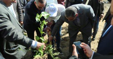 """إطلاق مبادرة """"اتحضر للأخضر"""" بجامعة كفر الشيخ ..صور"""