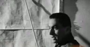 """شاهد.. حسنى مبارك ممثلًا فى فيلم """"وداع فى الفجر"""""""