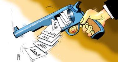 كاريكاتير صحيفة إماراتية.. دول المنطقة مستهدفة بالإرهاب والجهل