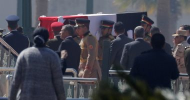 جنازة مبارك
