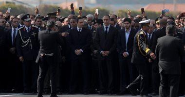 بث مباشر.. جنازة الرئيس الأسبق حسنى مبارك من مسجد المشير
