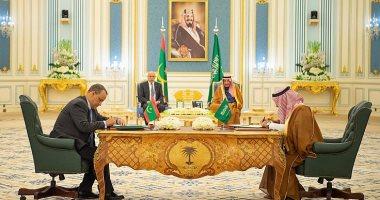 خادم الحرمين والرئيس الموريتانى يشهدان توقيع 4 اتفاقيات بين البلدين