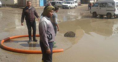 القليوبية تواصل أعمال رفع تراكمات المياه بعد 48 ساعة من سقوط الأمطار..صور -