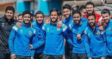 حماس لاعبى الأهلى في تدريب اليوم .. وحساب انستجرام: مستعدون للتحدي الإفريقى