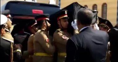 بعد قليل ..تشييع جثمان الرئيس الأسبق حسني مبارك إلى مثواه الأخير