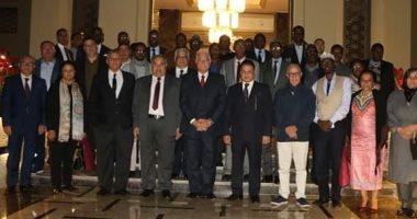 محافظ جنوب سيناء يستقبل وفد رؤساء المحاكم الدستورية والعليا الأفارقة