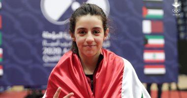 هند ظاظا أول طفلة سورية تتأهل لأولمبياد طوكيو 2020 لكرة الطاولة