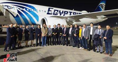 صور.. الطائرة الرابعة إيرباص A320neo تصل مطار القاهرة.. تتضمن أحدث التقنيات