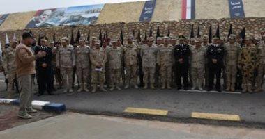 قيادات وضباط وفود عربية يتفقدون ميادين الرماية والقرية التكتيكية ..صور