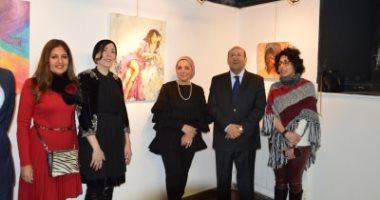 """سفير مصر فى إيطاليا يفتتح معرض """"صاحبة السعادة"""" بـ روما ×30 صورة"""