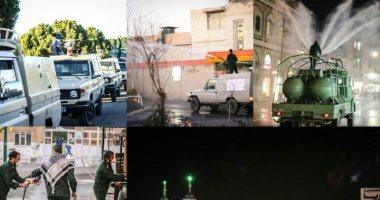 فيديو.. ايران تعقم الأضرحة والشوارع لمواجهة كورونا بعد وفاة 34 واصابة 388