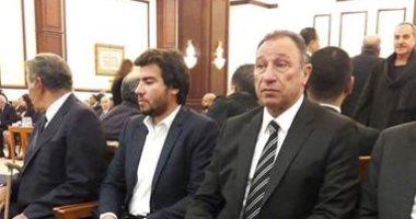 محمود الخطيب وطاهر أبو زيد وأحمد حسن ومحمد زيدان يشاركون في عزاء مبارك