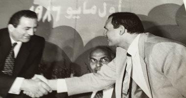 نعينع و4 قراء آخرون يقرأون بعزاء الرئيس مبارك بمسجد المشير طنطاوى فى التجمع