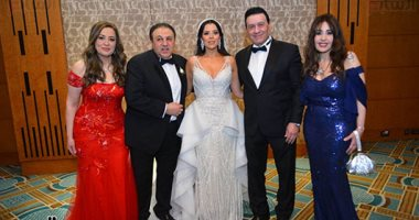 صور.. حفل زفاف نهلة مدحت شلبى وعمر حسنى بحضور مشاهير المجتمع