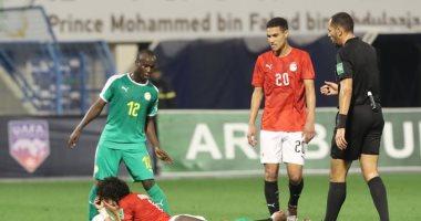 الشوط الأول ..تعادل سلبي بين منتخب 2001 و السنغال فى كأس العرب بالسعودية