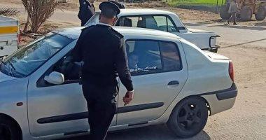 حملات مرورية بمحاور القاهرة والجيزة لرصد مخالفى قواعد المرور