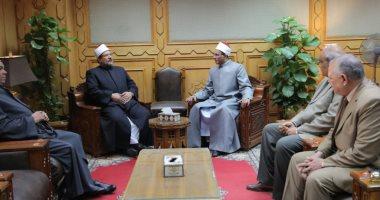 وكيل الأزهر يستقبل وزير الأوقاف لمناقشة سبل التعاون المشترك بين المؤسستين