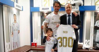 الريال ضد برشلونة.. تكريم خاص لـ إيسكو بعد المباراة 300 بقميص الملكى