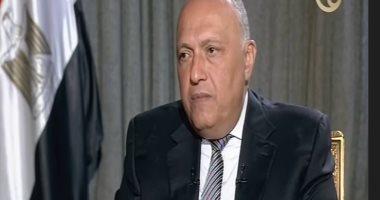وزير الخارجية: سنتقدم بطلب ضد أثيوبيا فى مجلس الأمن